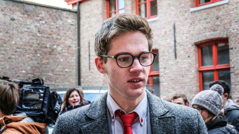 Lucas Van Asch (16) woonde al drie klimaatmarsen bij en wilde laten zien dat het menens is voor hem.