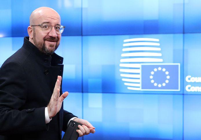 Charles Michel, le président du Conseil européen.