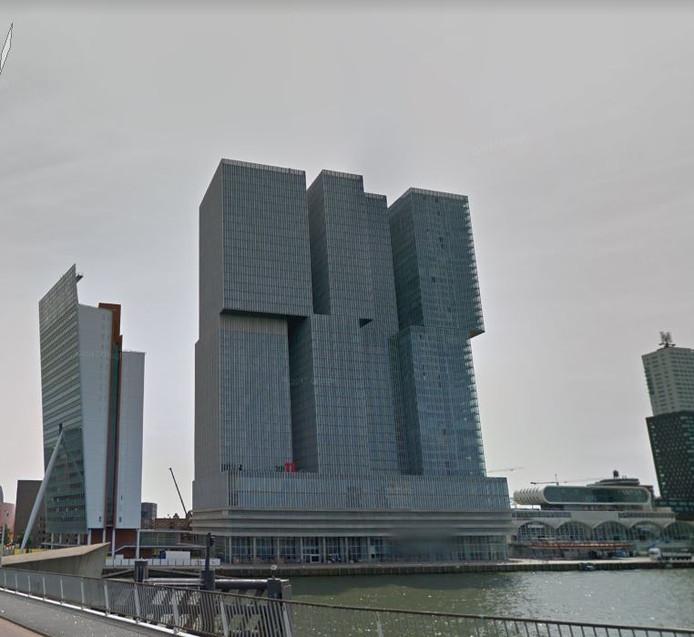 De Rotterdam aan de Rotterdamse Kop van Zuid