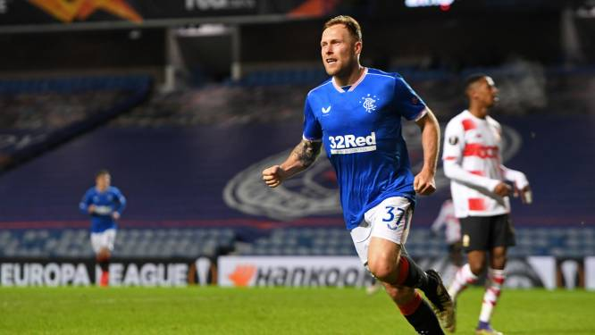 Standard mag zich op de borst kloppen met goede wedstrijd bij Glasgow Rangers, maar is Europees wel uitgeschakeld