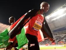 Cheruiyot loopt vanaf begin tot eind aan kop en wint 1500 meter