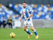 Dries Mertens a repris l'entraînement avec Naples