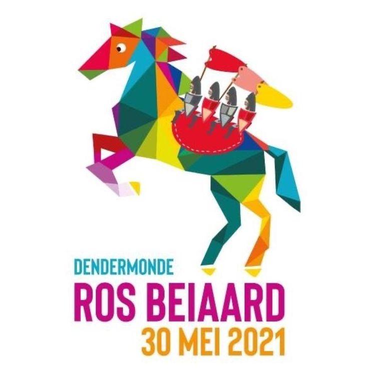 Het logo voor de Ros Beiaardommegang werd meteen aangepast met de nieuwe datum.