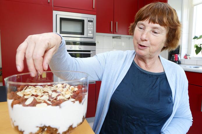 Gerrie de Bruijn is een enorme fan van zoet.  ,,Dat maken zelf vind ik heerlijk.''