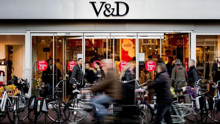 Een V&D-vestiging in Leeuwarden. Beeld anp