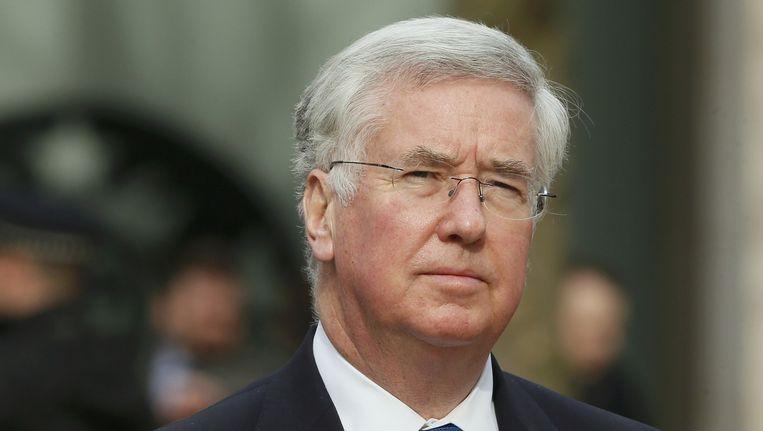 De Britse minister van Defensie Michael Fallon Beeld reuters