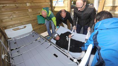 Geen raadsels oplossen, wél gewonden evacueren in deze 'escape room'