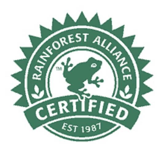 Rainforest Alliance, een keurmerk voor o.a. cacao