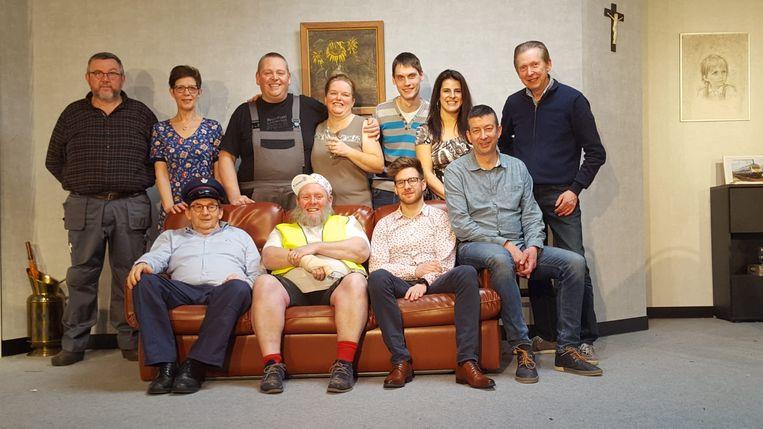 Toneelgroep Arcadia brengt 'Wint Monk de Lotto?'.
