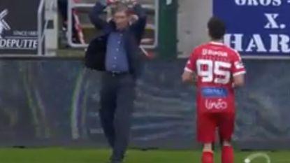 VIDEO: Dit waren de hoogtepunten in PO2: Francky Dury waant zich even speler en de onvermijdelijke Chevalier slaat weer toe