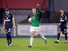 FC Dordrecht-spits Pedro Marques in beeld bij FC Den Bosch