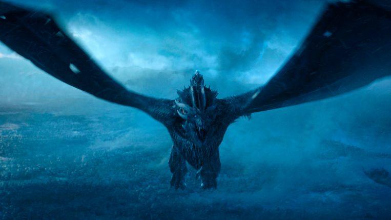 The Night King in de finale van Game of Thrones. Beeld AP
