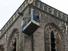 Hekken om afbrokkelende kerktoren in Didam
