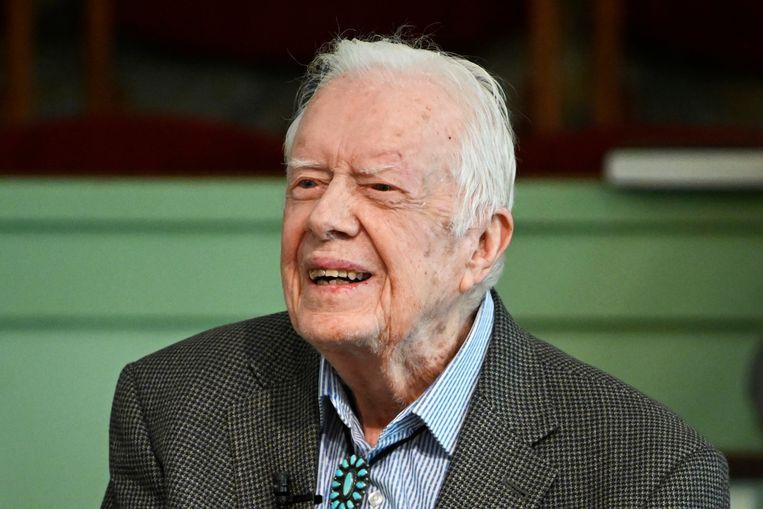 De Amerikaanse oud-president Jimmy Carter.