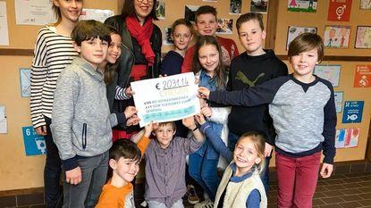 Basisschool zamelt 2.031 euro in voor Senegal