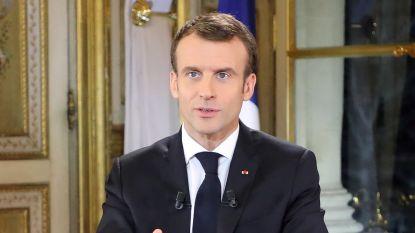 """Geen ontslag voor Macron maar wel drastische hervorming: """"Het is tijd dat de rust terugkeert"""""""
