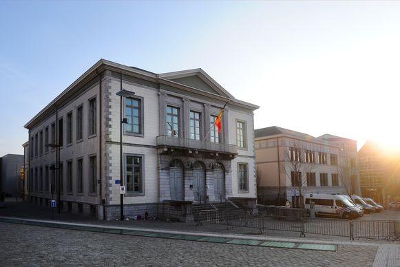 De rechtbank van Tongeren.