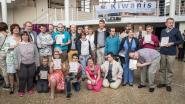 Kiwanis Roeselare 1 viert winnaars Nationale Kunstwedstrijd