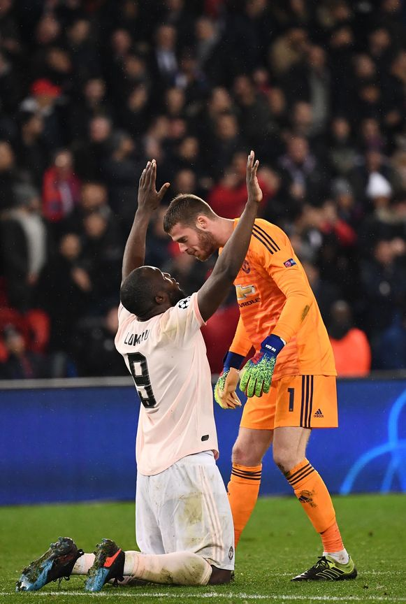 Parijs, 6 maart 2019: Lukaku stunt met Man United bij PSG.