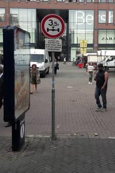 Vervoerders met te zware vracht in Utrechtse binnenstad