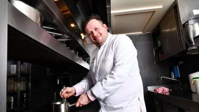 """'Jonge chef van het jaar' David Grosdent (34) leerde zijn vrouw Inès in de keuken kennen: """"Het was een coup de foudre, zoals in de films"""""""