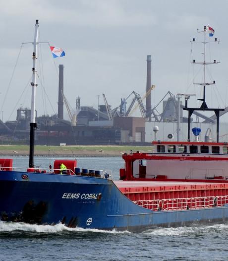 Twee vrachtschepen botsen bij Schiermonnikoog