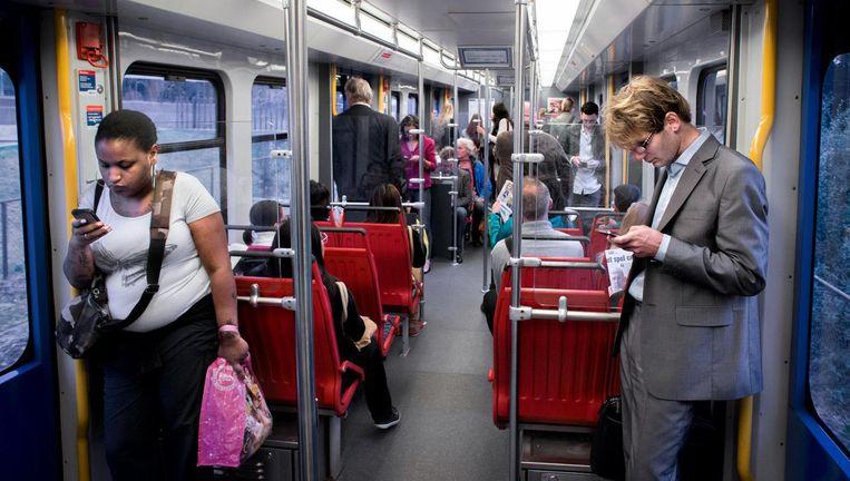 Reizigers moeten rekening houden met vertraging Beeld Rink Hof