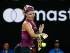Bertens in derde ronde uitgeschakeld door Wozniacki