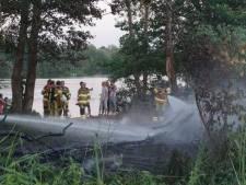 Alerte vissers voorkomen erger bij bosbrandje in Staphorst