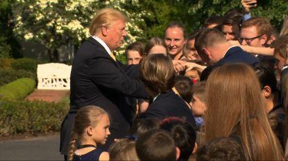 Primeur: Trump 'bewierookt' de media