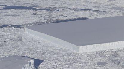 """Perfect rechthoekige ijsberg op Antarctica is niet de enige maar wel de meest """"fotogenieke"""""""