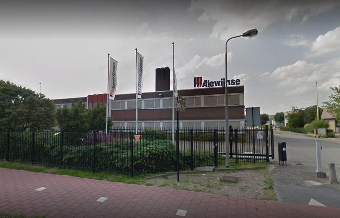 Het pand van Alewijnse aan de Energieweg in Nijmegen
