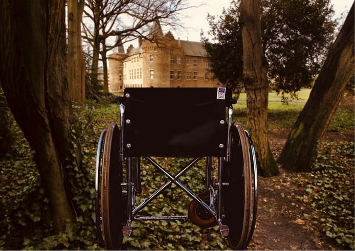 Bezoekers in een rolstoel kunnen tijdens de Helmondse Nacht van Cultuur op zaterdag 12 oktober een concert bijwonen in de 'secret garden'.
