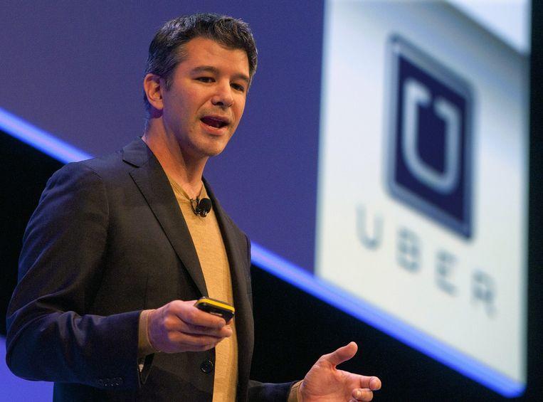Uber-CEO Travis Kalanick kende een turbulent jaar.