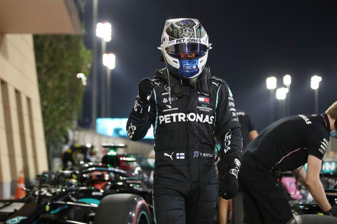 Valtteri Bottas viert zijn vijfde poleposition van het seizoen.