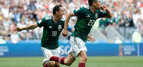 Mexico stunt tegen Duitsland door winnende goal PSV'er Lozano