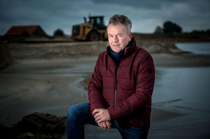 Herman van der Linde, projectleider van Nederzand bij zandwingebied Over de Maas.