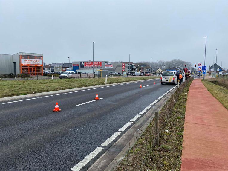 De controle vond plaats op de Ninoofsesteenweg in Pamel.