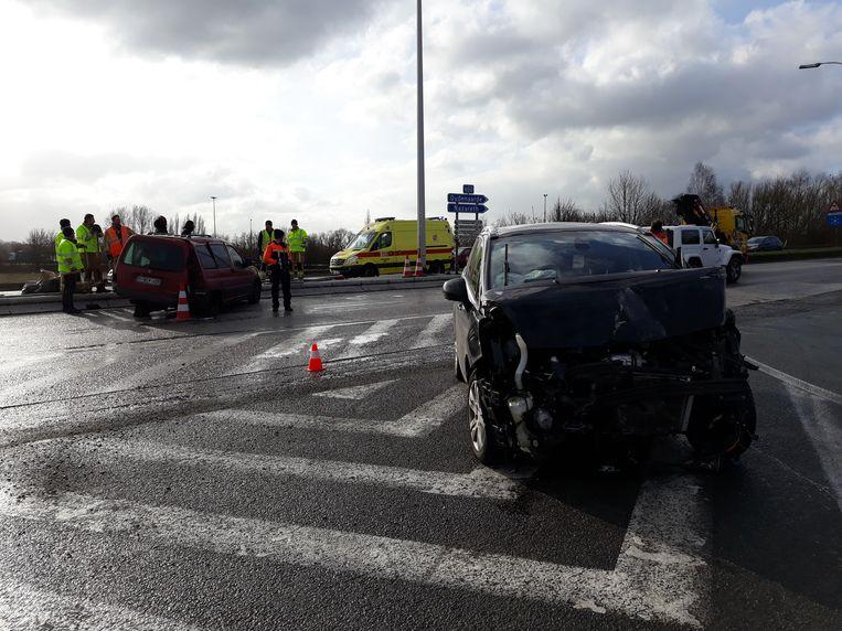 Ongevallen op de N60 in de buurt van De Pinte.