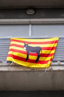 Protest in Utrecht tegen opsluiting Catalaanse activisten
