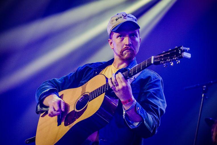 Tyler Childers gaf een enthousiaste country- en bluegrassshow. Beeld null