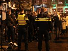 Politie: spontane actie tegen coronabeleid op de Neude rustig verlopen
