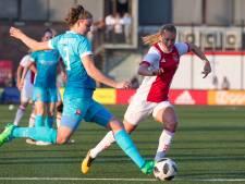 Ajax Vrouwen landskampioen na winst bij FC Twente Vrouwen
