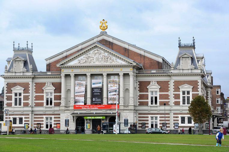 Het Concertgebouw. Beeld Hollandse Hoogte /  ANP