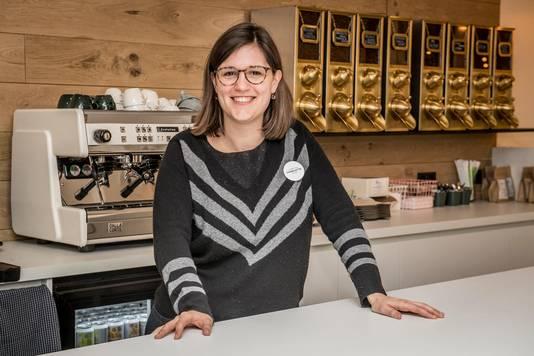 Charlotte Haevegeer brengt in Nowme thee, koffie en 'welbehagen'.