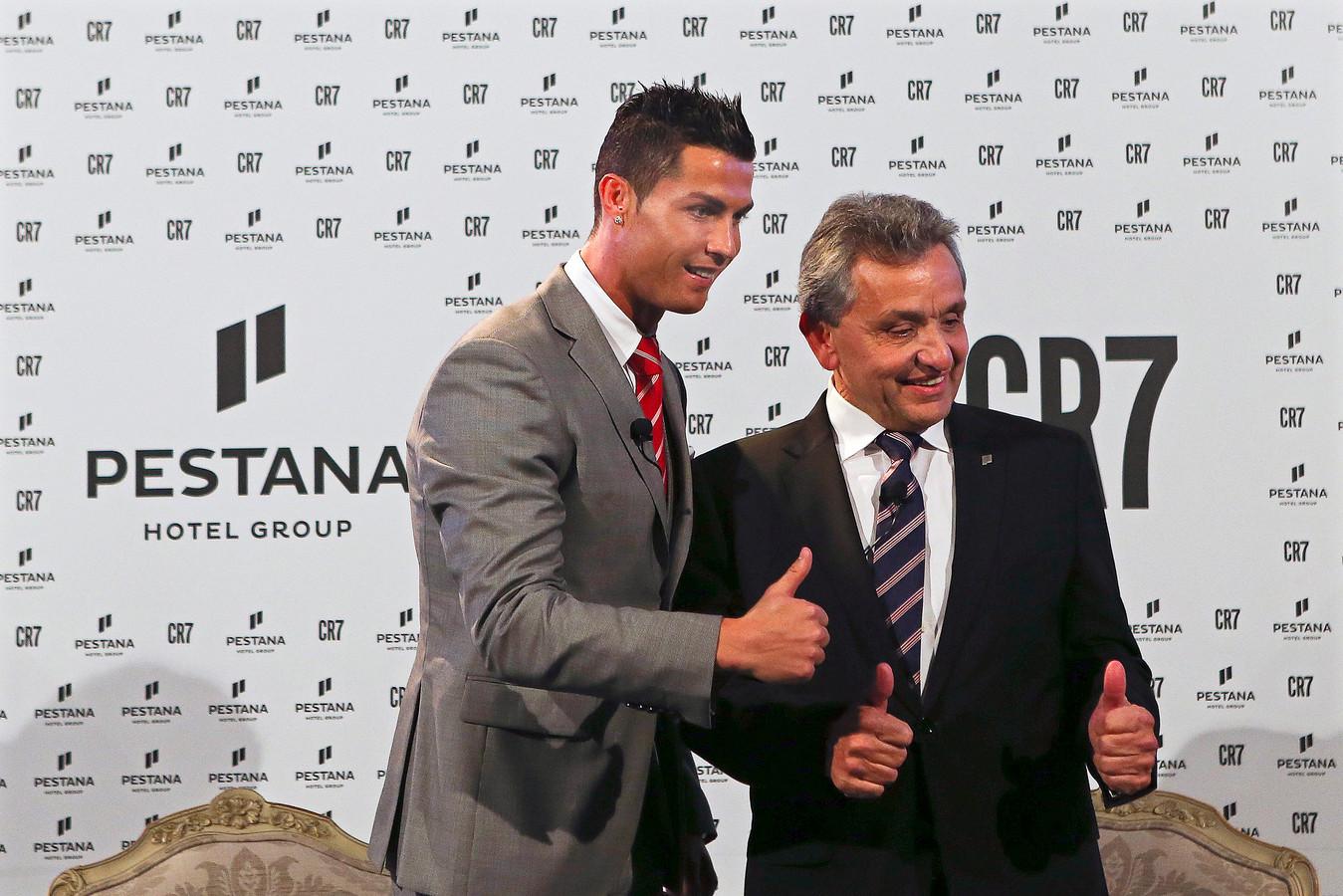 Ronaldo op archiefbeeld.