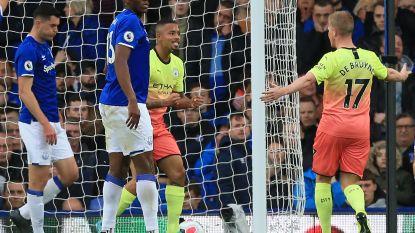 De Bruyne helpt Man City met assist aan zege tegen Everton