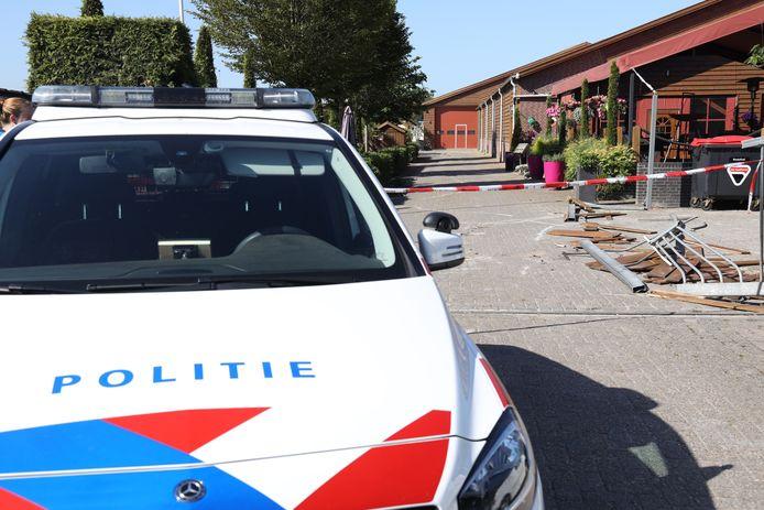 Drugslab aan de Kampweg in Vorstenbosch gevonden.