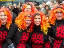 Carnavalisten laten zich niet omverblazen door beetje wind