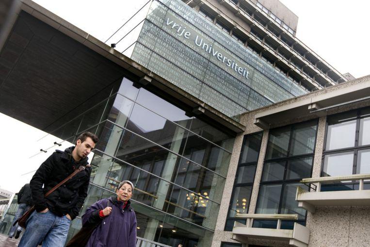 Door de samenwerking tussen de Universiteit van Amsterdam en de Vrije Universiteit worden alle bètaopleidingen op masterniveau gebundeld. Foto ANP/Koen Suyk Beeld